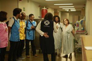 Sompo Seguros patrocina ONG que leva voluntariado e arte a hospitais públicos