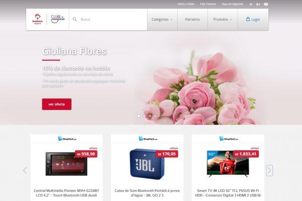 Bradesco Seguros disponibiliza novo site do Clube de Vantagens para facilitar navegação de usuários
