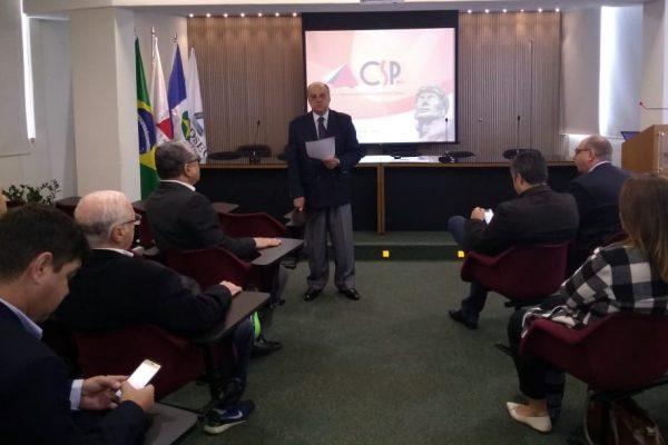 José Osvaldo de Miranda, presidente do Conselho Consultivo, conduziu a Assembleia