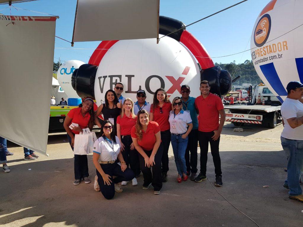 Velox Contact Center comemora Dia do Guincheiro em Cotia (SP)
