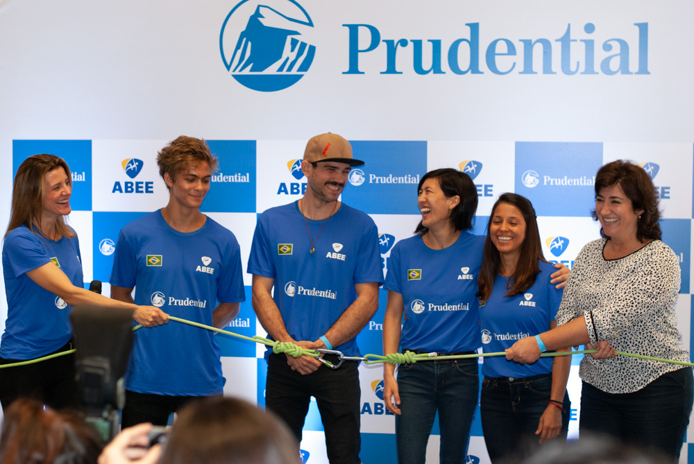 Prudential é patrocinadora oficial da Seleção Brasileira de Escalada Esportiva