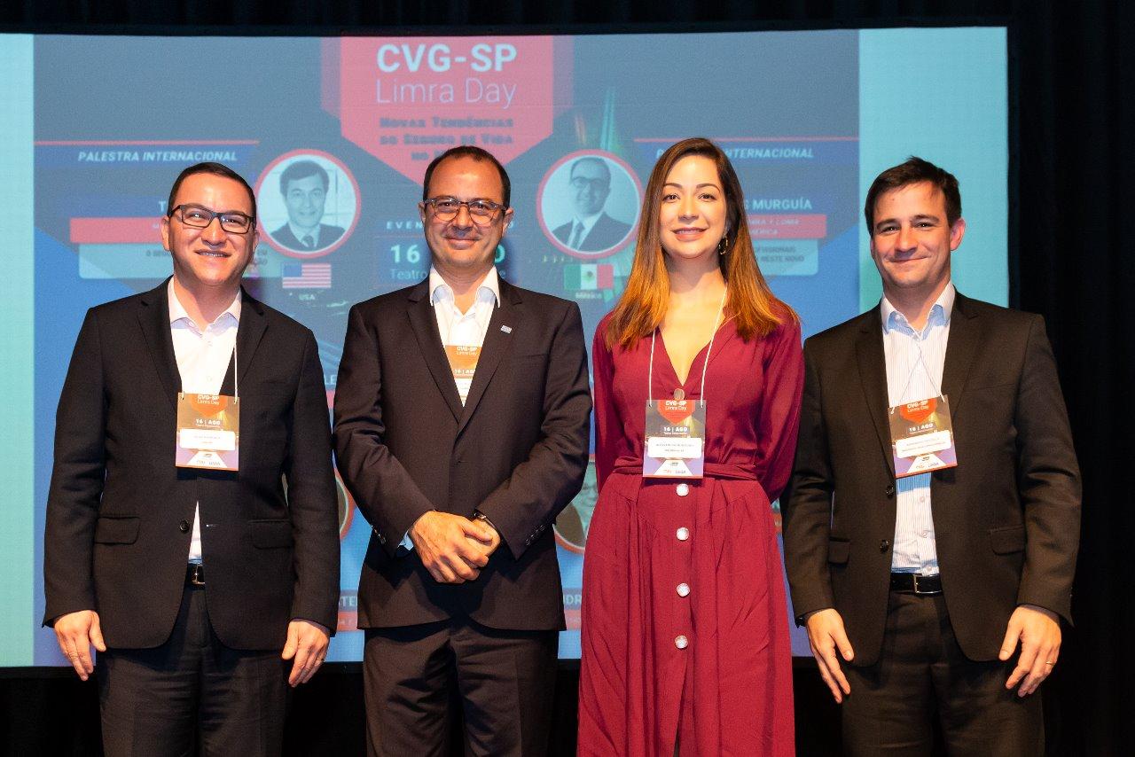 Palestrante e debatedores do painel 2: Silas Kasahaya, Carlos Islas Murguía, Alessandra Monteiro e Bernardo Castello / Divulgação