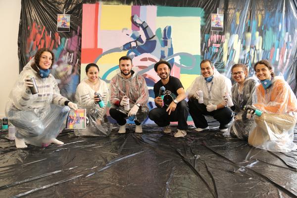 Allianz Partners promove ação inédita de grafite em parceria com o Movimento PAS