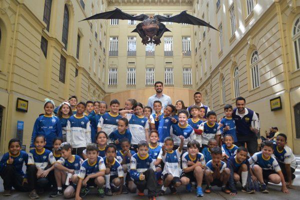 Crianças do núcleo de Jeceaba visitam o CCBB em BH / Divulgação