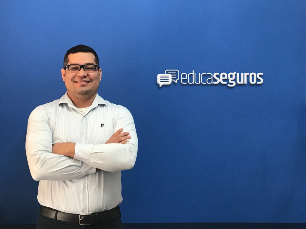 Anderson Ojope representa a Educa Seguros / Divulgação
