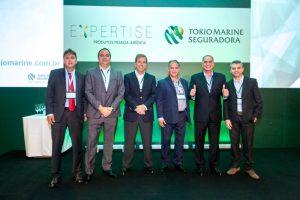 Da esquerda para a direita: Sérgio Brito, José Luís Franco, Felipe Smith, Sidney Cezarino, Valmir Rodrigues, Valdo Alves / Divulgação