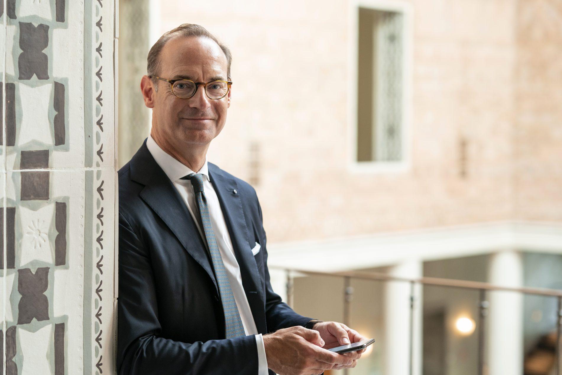 Oliver Bäte é CEO do Grupo Allianz / Divulgação