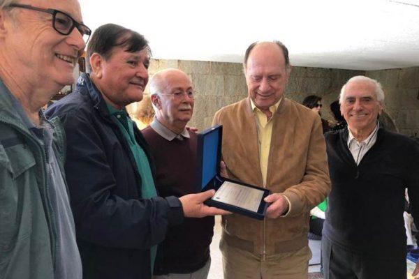 Clube da Bolinha do Rio de Janeiro presta homenagem a João Elísio Ferraz de Campos
