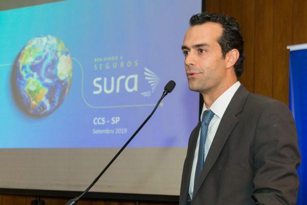 Seguros SURA anuncia no almoço do CCS-SP o Auto Único SURA