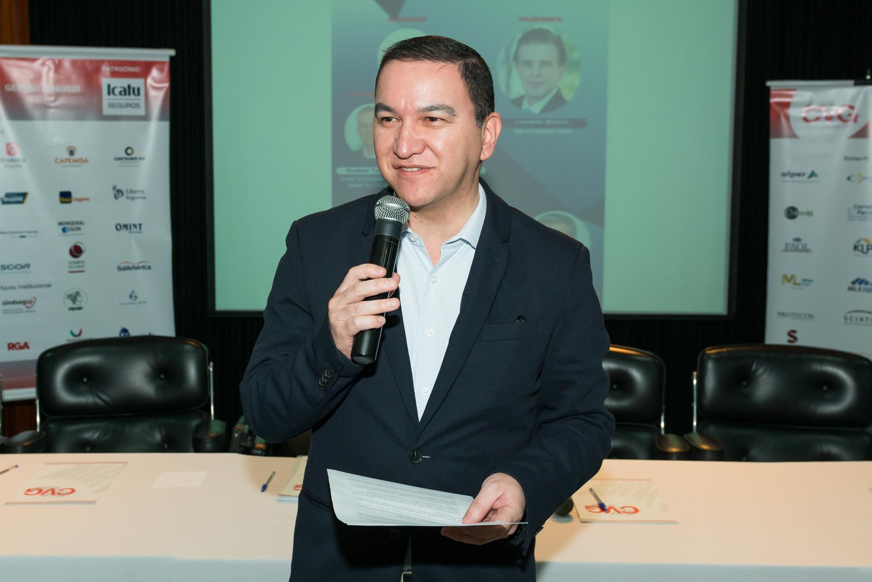 Silas Kasahaya, presidente do CVG-SP / Antranik Photos