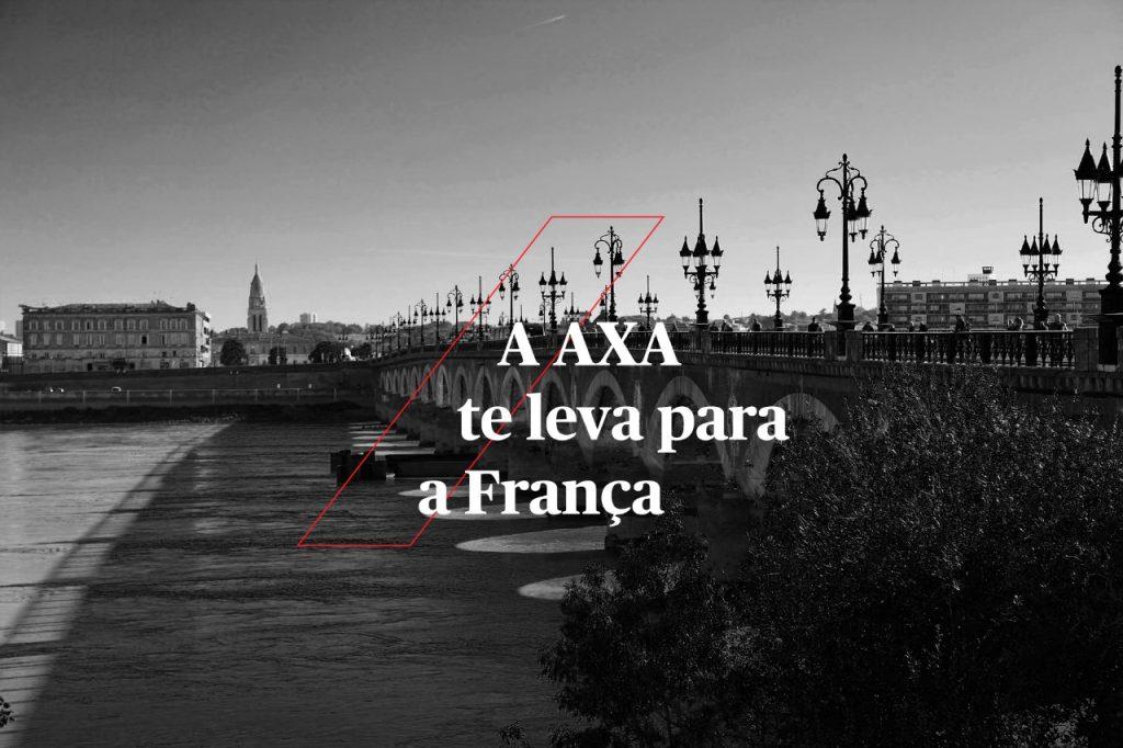 """Campanha """"AXA te leva para a França"""" premia corretores com viagem para Paris e Bordeaux"""