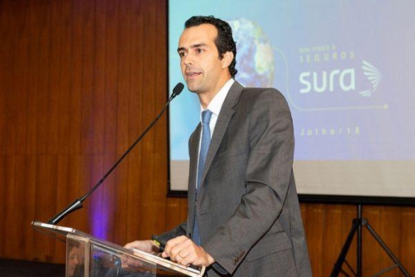 Cristiano Saab é vice-presidente de Canais e Subscrição da Seguros SURA / Divulgação