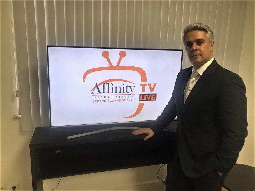 Erick Lorga é gerente comercial da Affinity no Rio de Janeiro / Divulgação