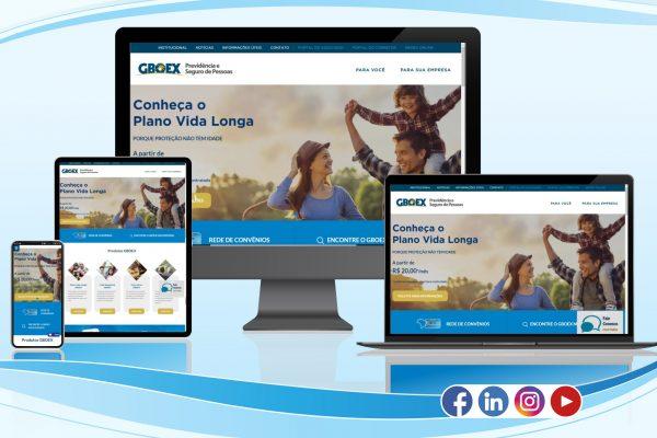 GBOEX apresenta novo site