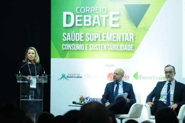 FenaSaúde discute sustentabilidade do setor em debate do Correio Braziliense
