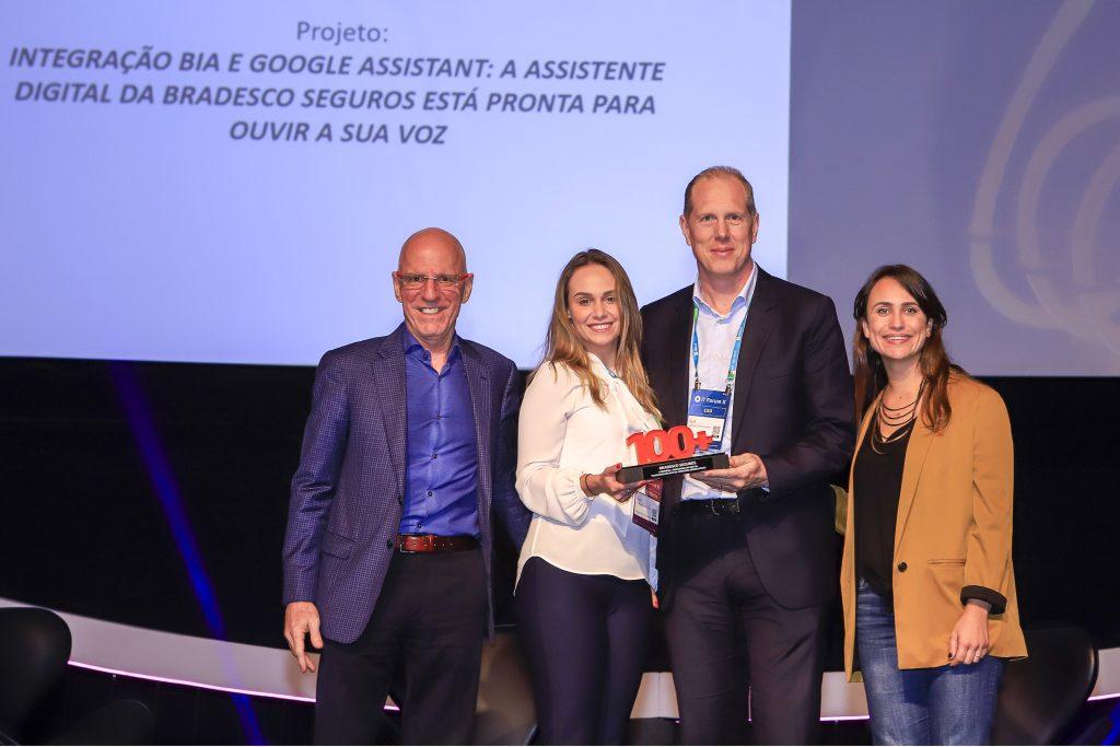 Grupo Bradesco Seguros é reconhecido entre as melhores empresas de Tecnologia da Informação