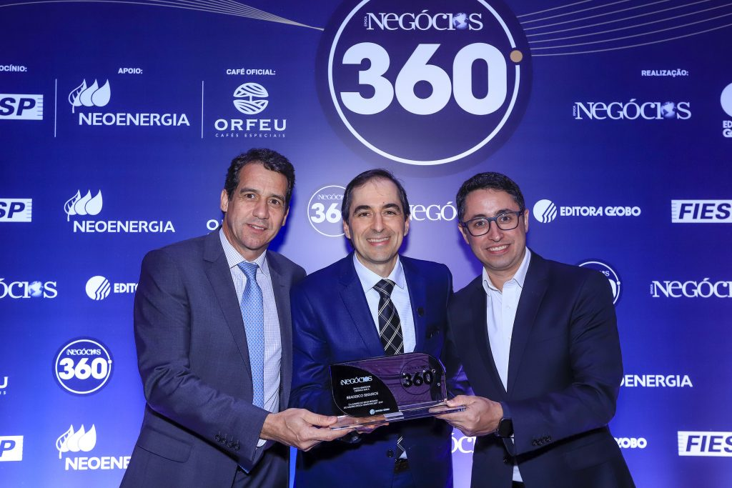 Grupo Bradesco Seguros é novamente eleito pelo Época Negócios 360° como a melhor empresa do país no segmento de Seguros