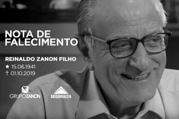 Falece o fundador da Seguralta, Reinaldo Zanon Filho, aos 78