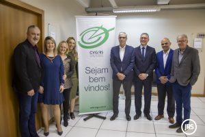 Executivos do Centro Clínico Gaúcho participam de Café do CVG/RS