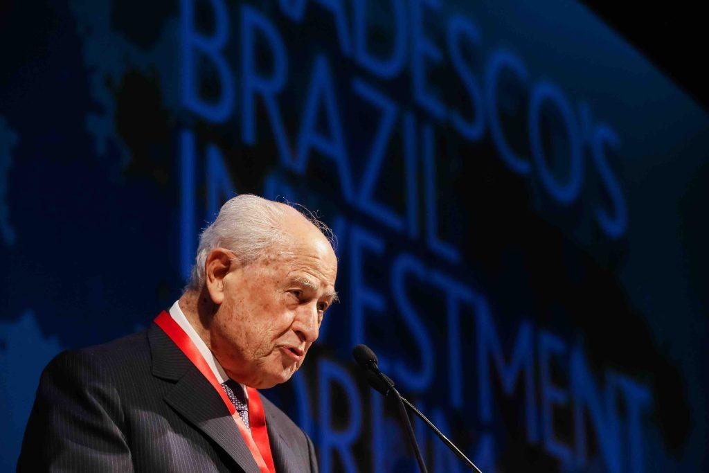 Lázaro Brandão, ex-presidente do Bradesco, falece aos 93 anos