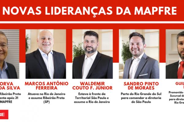 MAPFRE tem novas lideranças em quatro regiões