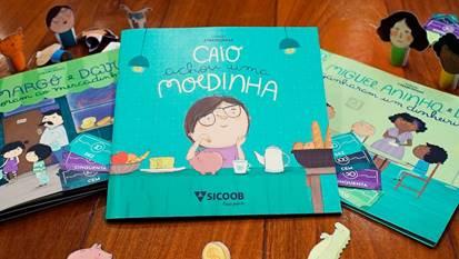 Livros ensinam educação financeira para crianças