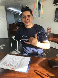 David Sousa é paraciclista / Divulgação