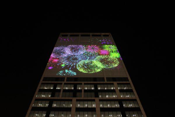 Bradesco Seguros estreia vídeo mapping para celebrar o fim de ano no Rio de Janeiro