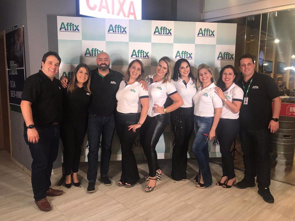 Pedro Rezende, CEO da Affix, a esquerda, e equipe / Diuvlgação