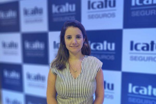 Luciana Bastos é diretora de produtos de Vida da Icatu Seguros / Foto: William Anthony (JRS)