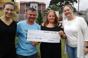 ISB Brasil arrecada cerca de R$ 20 mil para lar de idosos de Piraquara, no Paraná
