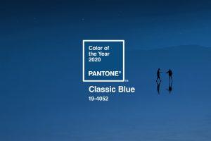 Pantone anuncia Classic Blue como a cor do ano para 2020