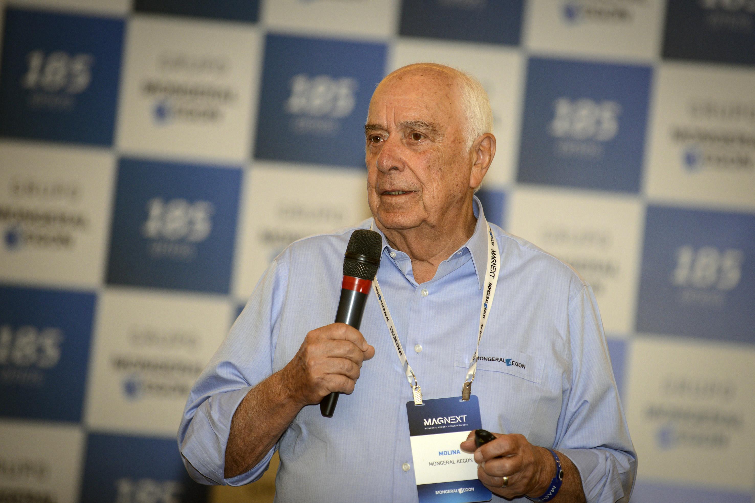 Nilton Molina é Presidente do Conselho de Administração da MAG Seguros e do Instituto de Longevidade Mongeral Aegon / Foto: Chico Ferreira/Divulgação