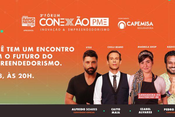 Fórum Conexão PME terá transmissão online e gratuita nesta quinta, 13 de agosto