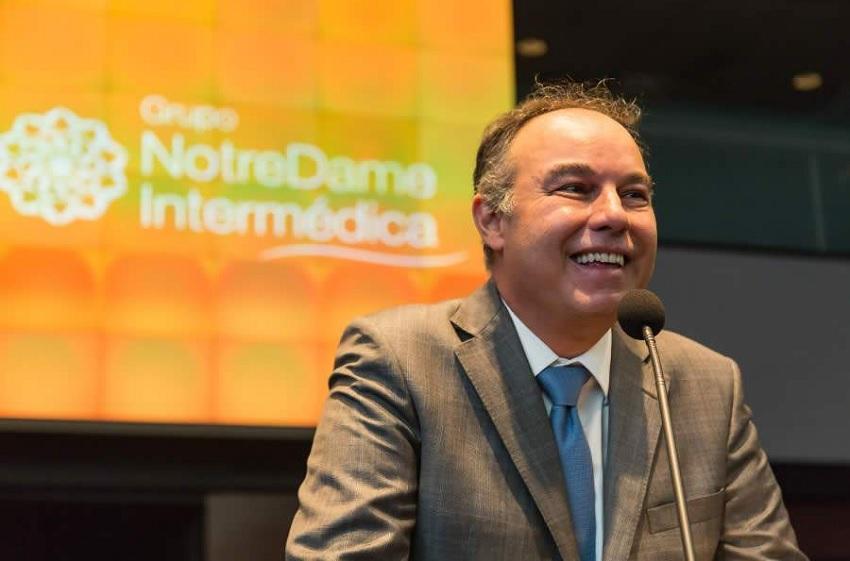 Irlau Machado Filho é presidente do Grupo NotreDame Intermédica / Divulgação