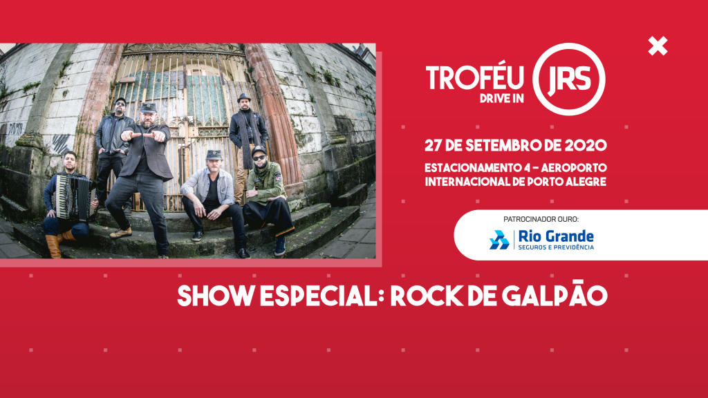 Rock de Galpão animará participantes do Troféu JRS Drive In