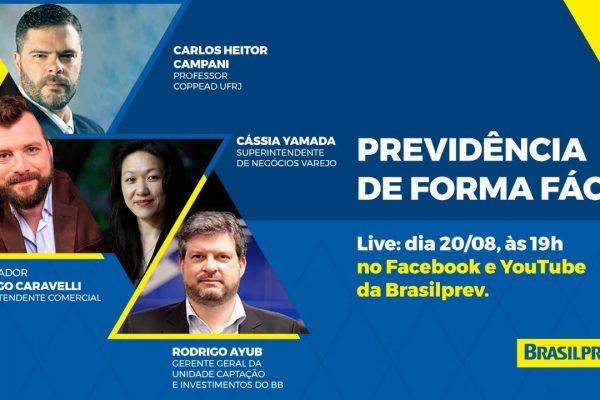 Brasilprev explica detalhes sobre previdência privada de forma descomplicada