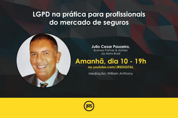 LGPD na prática para profissionais do mercado de seguros; Siga ao vivo!