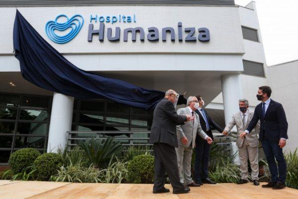 CCG Saúde inaugura Hospital Humaniza, em Porto Alegre (RS)