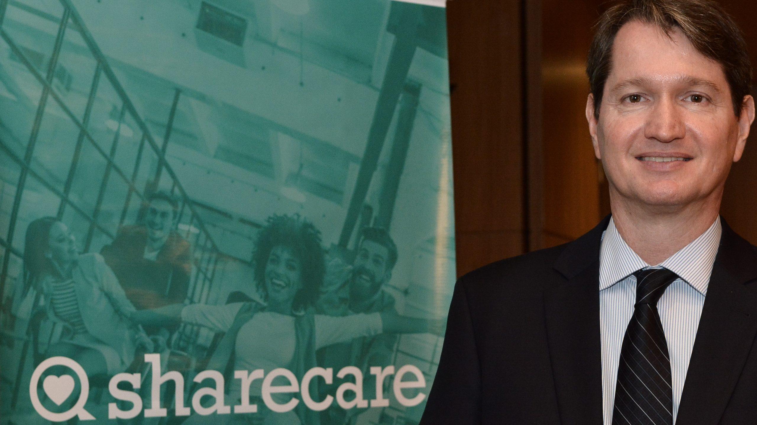 Nicolas Toth é CEO da Sharecare / Divulgação