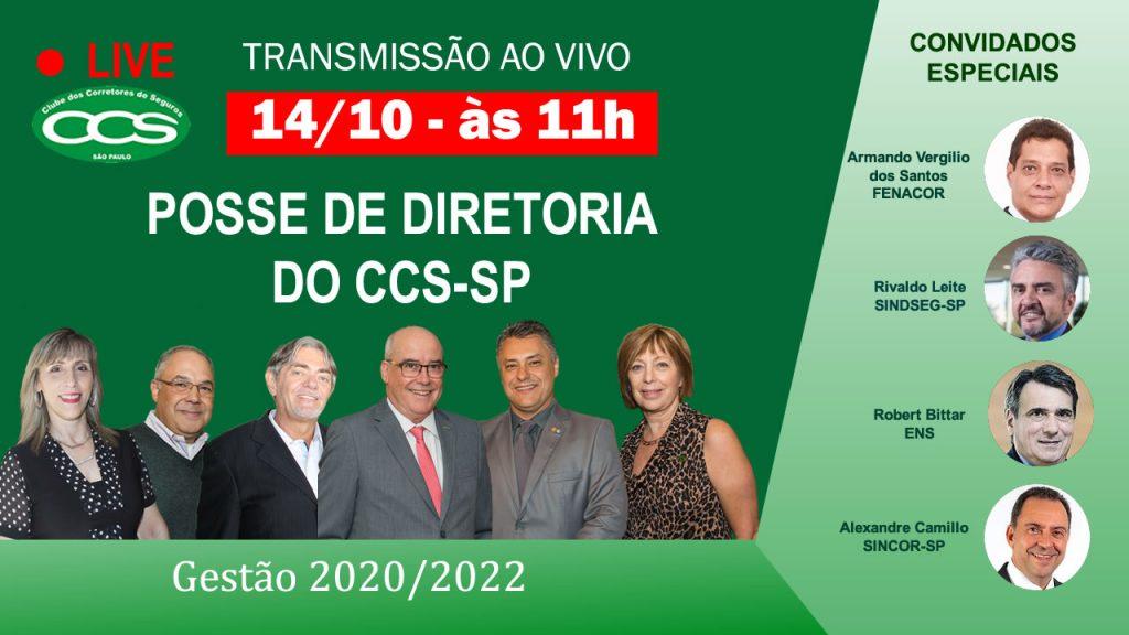 Clube dos Corretores de SP empossa nova diretoria nesta quarta