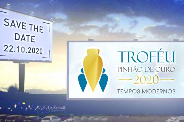 Premiação do Troféu Pinhão de Ouro 2020 será no modelo drive-in
