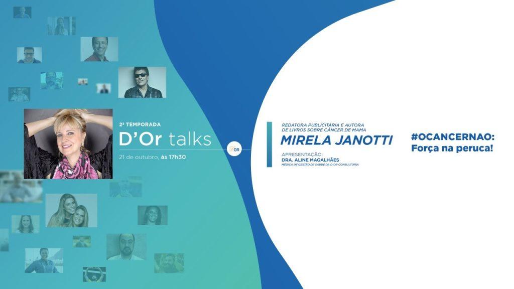 D'Or Talks, com Mirela Janotti, reforça mensagem de otimismo