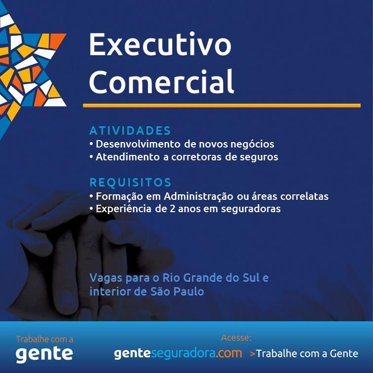 Gente Seguradora contrata executivo comercial / Divulgação