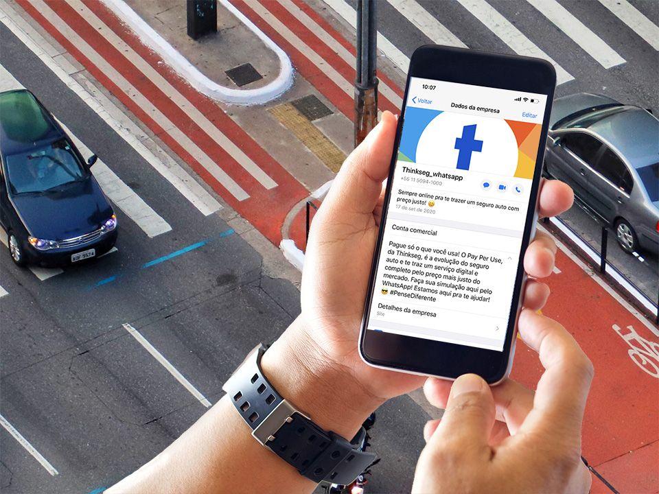 Pay Per Use é o primeiro seguro automóvel disponível via WhatsApp no Brasil / Divulgação
