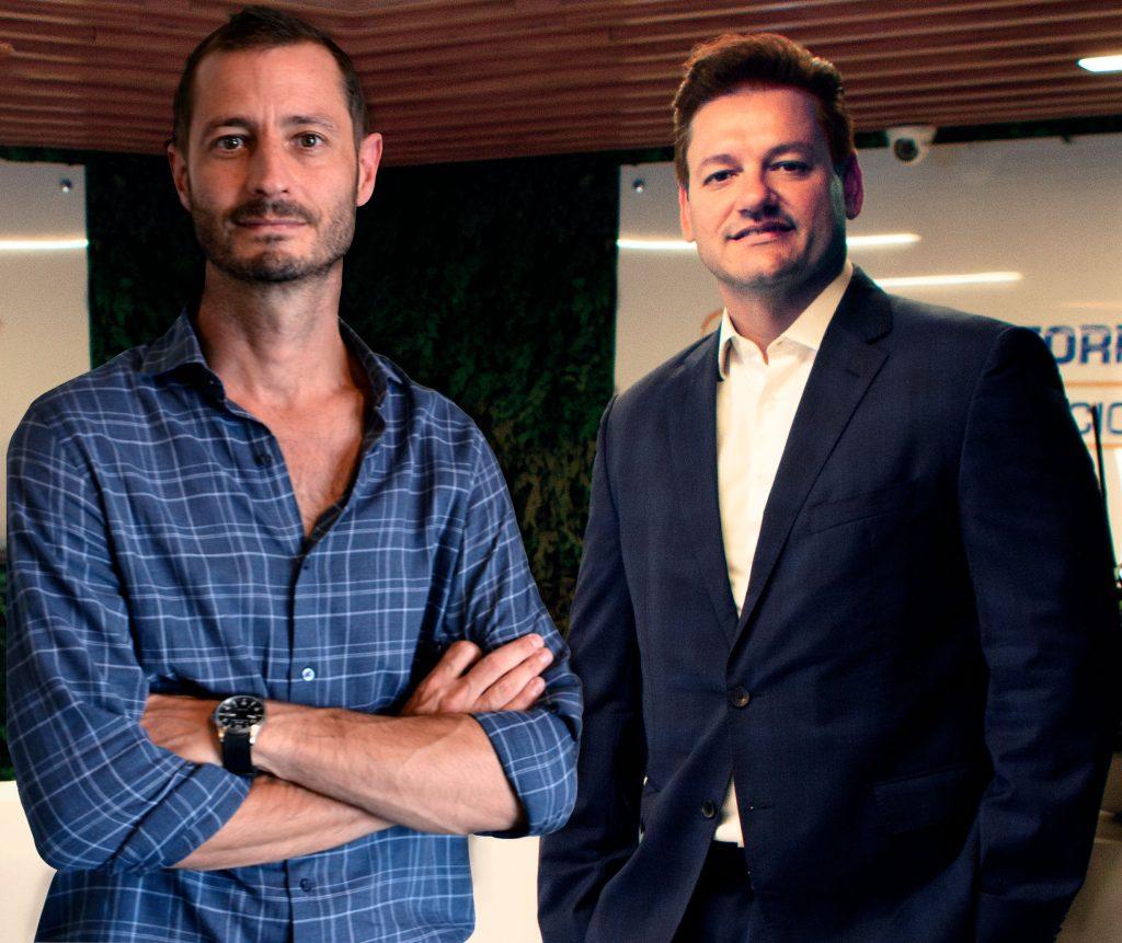 Ian Bonde, CEO da ViBe, e Bruno Iannuzzi, CEO da D'Or Consultoria / Divulgação