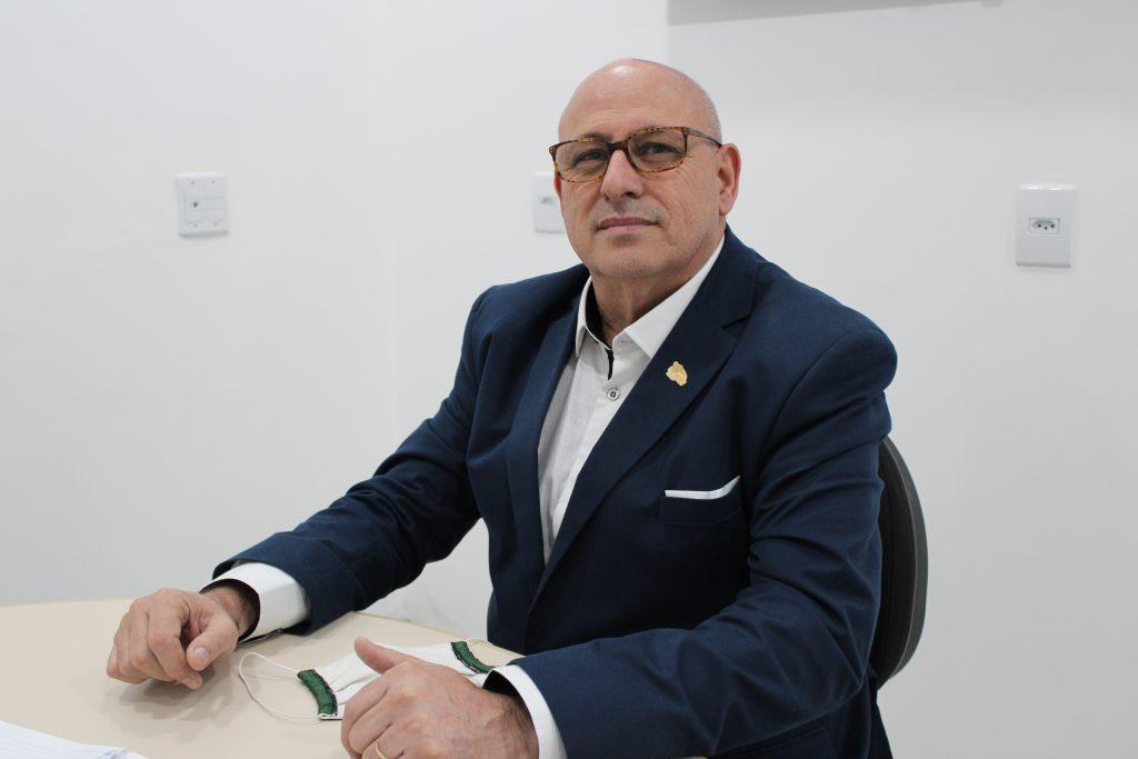 O diretor comercial da União Seguradora, João Carlos Lock. / Foto: Divulgação/Grupo Aspecir