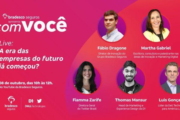 Bradesco Seguros discute o Futuro do Trabalho na 2ª edição do evento Cultura da Inovação