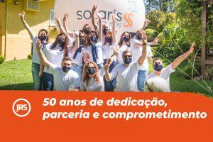 Solaris Corretora de Seguros: 50 anos de dedicação, parceria e comprometimento