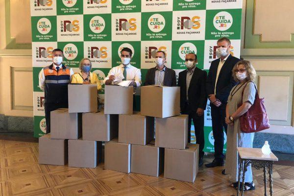 Braskem, Fitesa e Grendene doam 500 mil máscaras para governo do Rio Grande do Sul